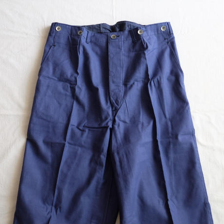Swedish military deadstock 50s trousers