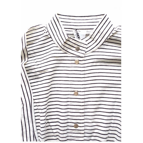 VUOKKO horizontal stripe dress