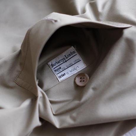 Lady's Burberry Single panel coat w/belt
