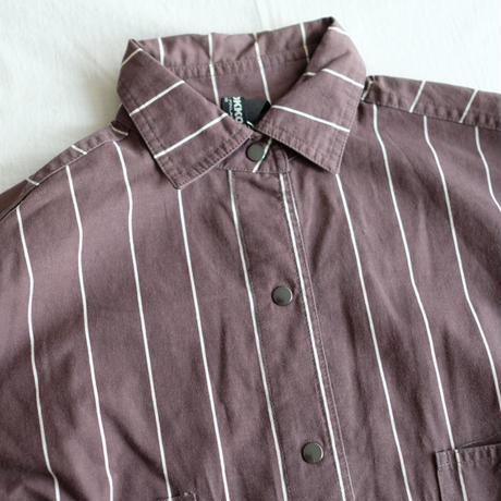 VUOKKO brown stripe shirt