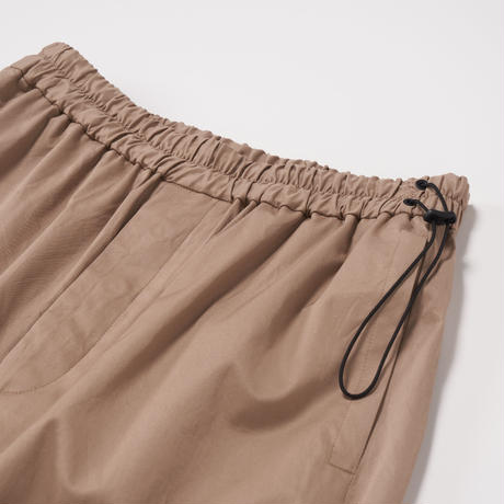 ATON / COTTON TWILL EASY PANTS