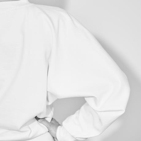 """Graphpaper Women Limited item/Compact Terry Dolman Sleeve Crew Neck Limited Color """"White"""""""