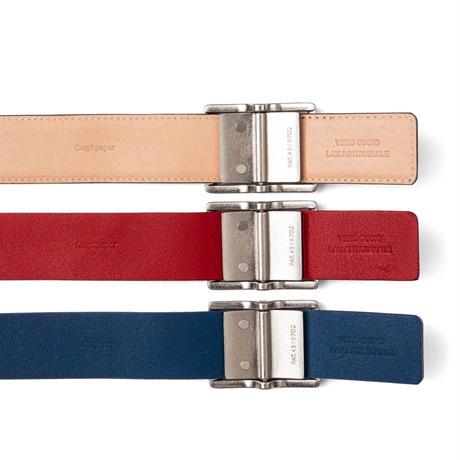 Graphpaper / Holeless Leather Classic Belt