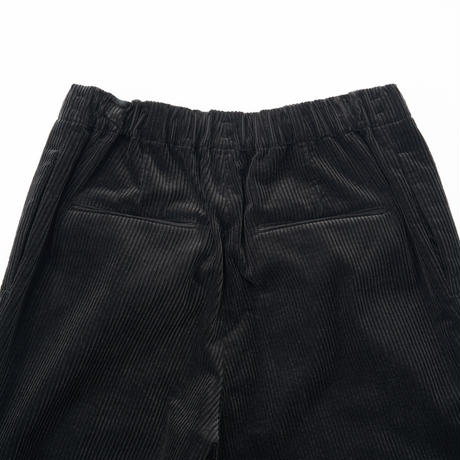 ATON /SUVIN CORDUROY TAPERED EASY PANTS