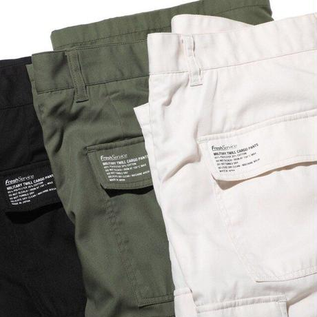 MILITARY TWILL CARGO PANTS-21SS-