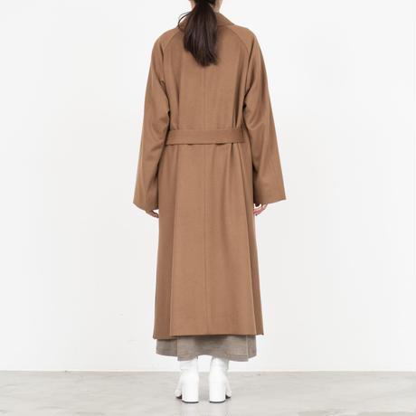 Graphpaper / Wool Beaver Belted Coat