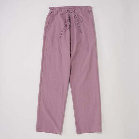 AURALEE / WASHED FINX TWILL EASY WIDE PANTS