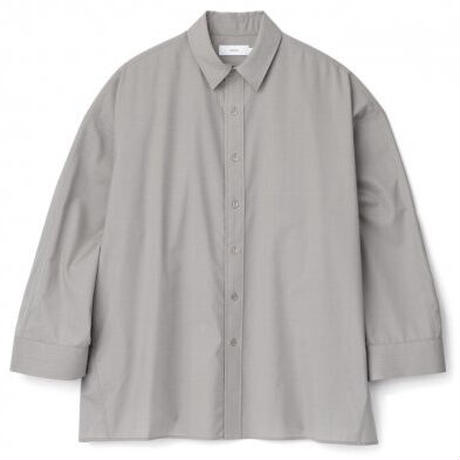 Graphpaper / Fine Wool Tropical Yoke Sleeve L/S Shirt