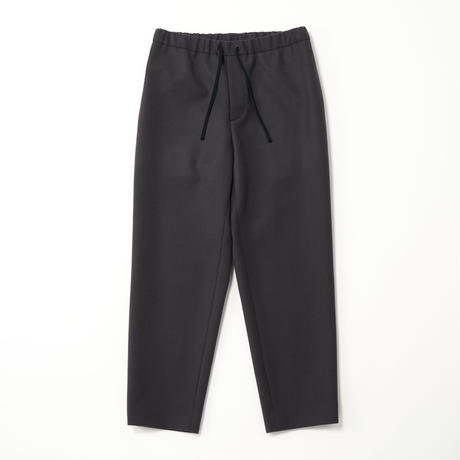 ATON/SUPER 160S DOUBLE SAXONY TAPERED EASY PANTS