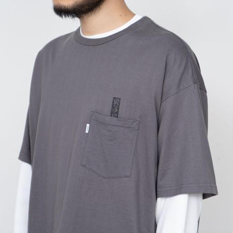 """男子自身 + Graphpaper """"S/S Oversized Pocket Tee"""""""