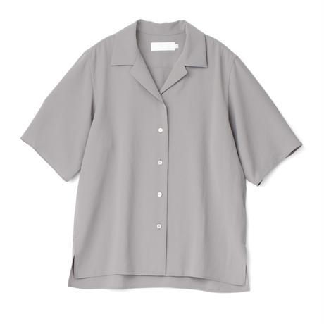 Graphpaper /  Matte Satin Open Collar Shirt