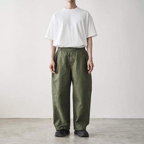 Tap Water / Cotton Ripstop Military Trousers