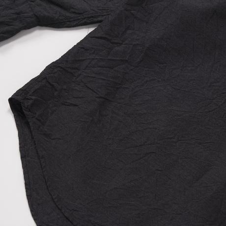 COMOLI/杢シルクシャツ