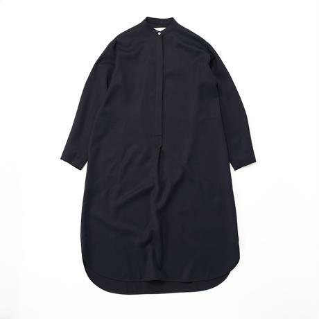 STUDIO NICHOLSON / DRY DRAPE TWILL SHIRT DRESS