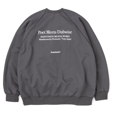 """POET MEETS DUBWISE for GP Compact Terry Crew Neck """"down"""""""