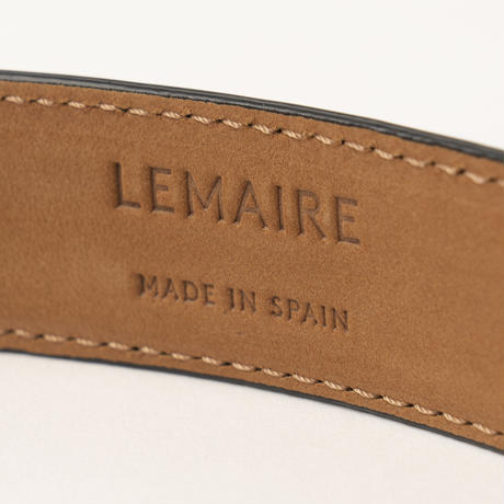 LEMAIRE / THIN LEATHER BELT