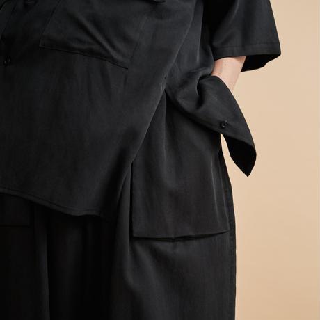 YOKE for CABINET OF CURIOSITIES/HALF SLEEVES BIG FLAP SHIRT