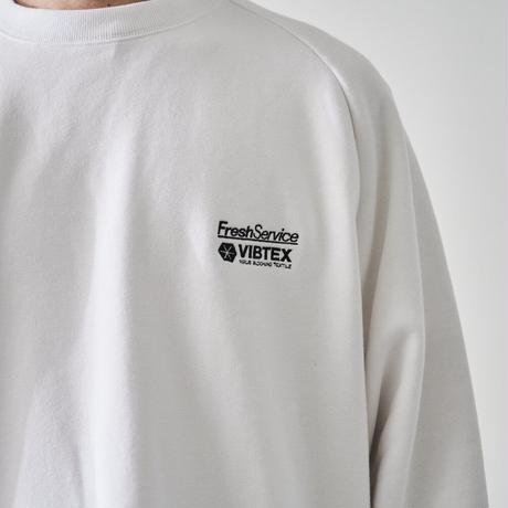 VIBTEX for FreshService  SWEAT CREW NECK PULLOVER