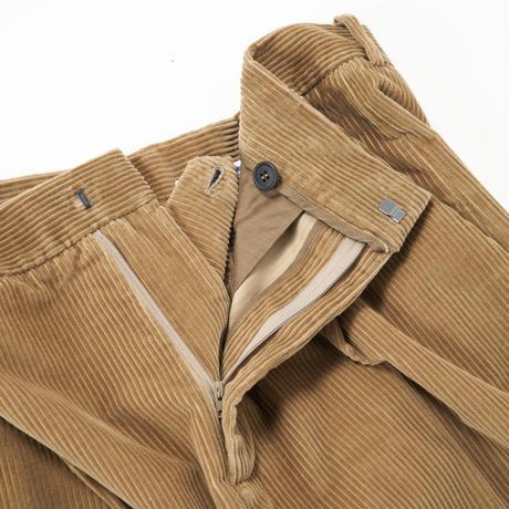 Cristaseya/Italian corduroy Pleated Cropped Trousers