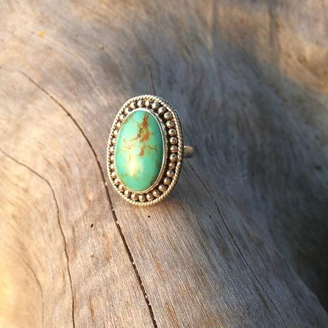 One of kind / American Turquoise Ring