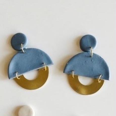 Cornflower Blue Clemence Earrings