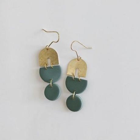 Sage Edie Earrings