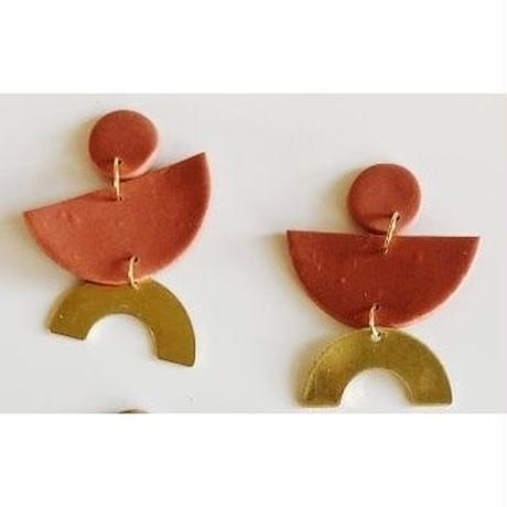 Rust James Earrings