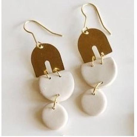 Ecru Edie Earrings