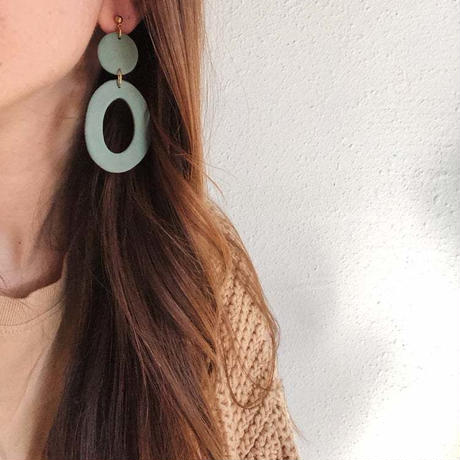 Speckled Nude Florence Earrings