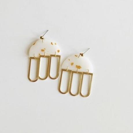 Golden Lux Earrings