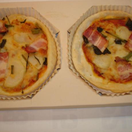 信州産野菜を使った、手作りピッザ(予備加熱済)