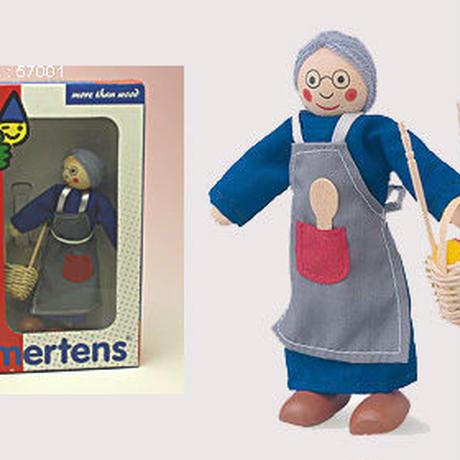 ドールハウス人形 おばあさん