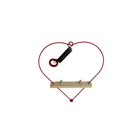 ABAfactoryの人形専用 2体用ハート型ブランコ