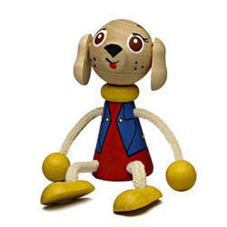 チェコおすわり人形 犬 LUMAZ+ブランコ