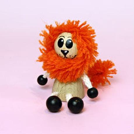 ミニ人形 ライオン