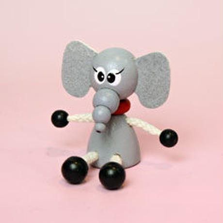 ミニ人形 ゾウ