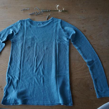 Bonton linen 長袖Tシャツ/ 6A -10A