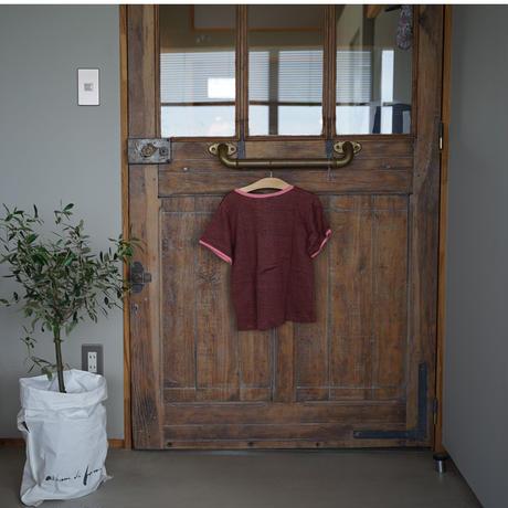 Polder  girl linen無地Tシャツ/ 6A〜12A