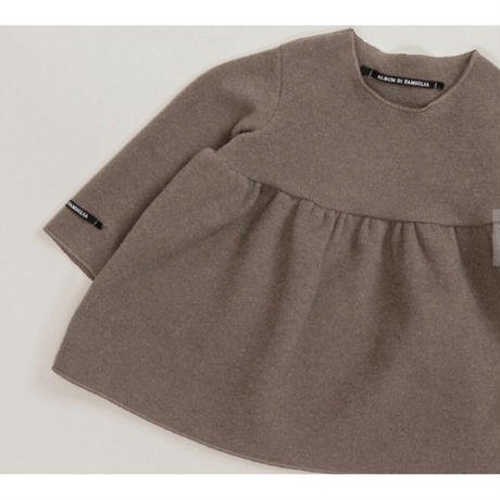 コットンフリースドレス/baby