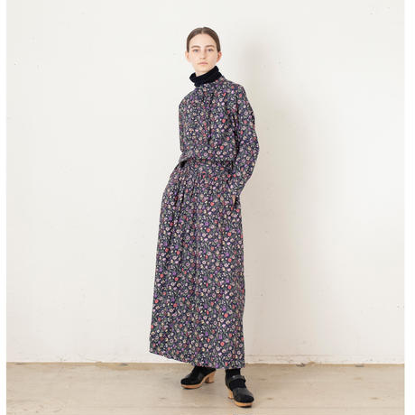 t.yamai リバティギャザースカート