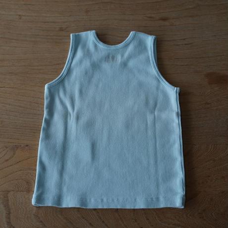 Bonton cotton リブ編みランニング/ 4A-6A