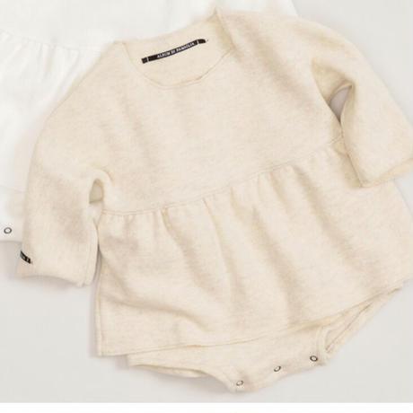 ブルマ付きコットンフリースドレス/baby