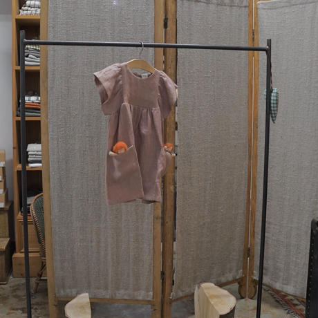 Nils / フリル袖ドレス