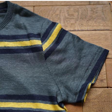 Bellerose linenボーダーTシャツA/ 6A〜10A