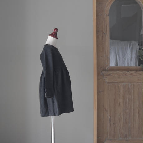 コットンフリースドレス/2A-6A