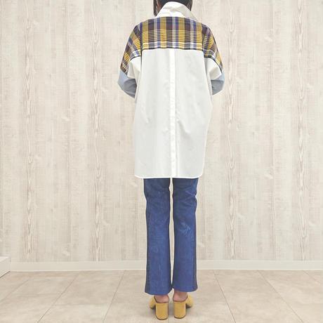 ネオンチェックビックシャツ〔01238-007〕