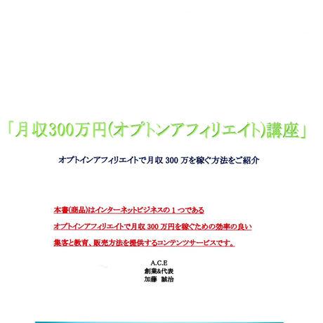 月収300万円(オプトインアフィリエイト)講座