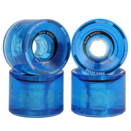 NAMI WHEEL FreeStyle 66mm Clear Blue