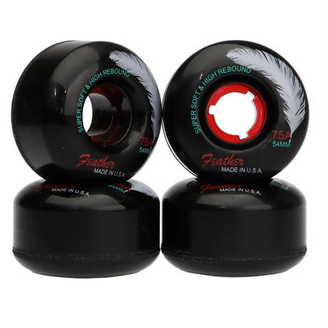 Feather Wheel CRUISE 75A 54mm Black/Red