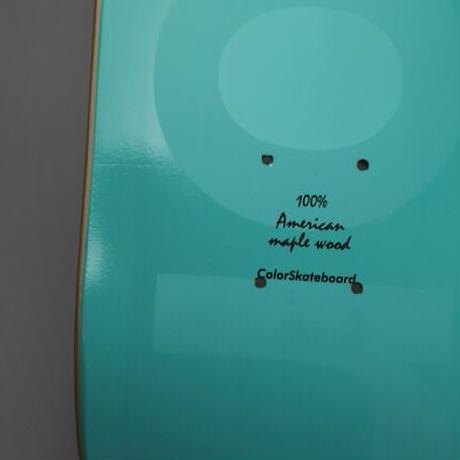 COLOR SKATEBOARD Phantom Emerald